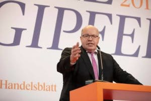 Germany's energy minister Altmaier