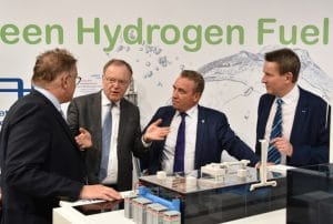 """Stephan Weil demanded during the Hannover Messe: """"Hydrogen technology from Lower Saxony for Lower Saxony and the rest of the world - all over the world."""""""
