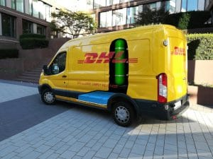 DHL Express has ordered 100 H2 Panel Van with fuel cell systems from Plug in spring 2019, delivery starts 2020