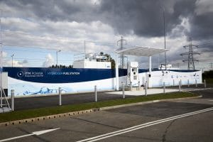 Hydrogen charging station from ITM Power